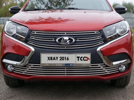 Lada XRAY(x-ray) 2016-Решетка радиатора нижняя 12 мм